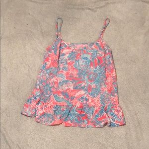 Lilly Pulitzer tank top.